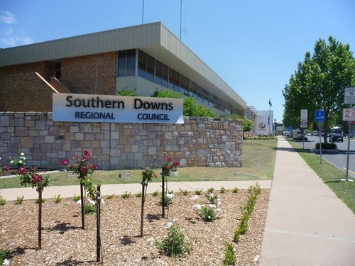 Southern Downs Regional Council building Warwick